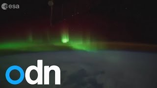 Watch: Astronauts film stunning Southern Lights from space