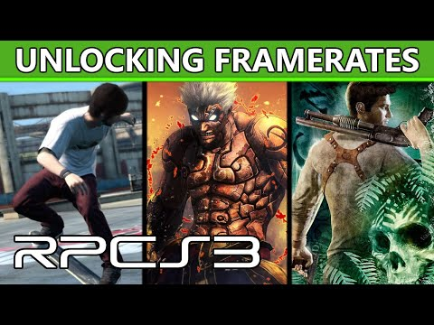 RPCS3 - Unlocking your games' framerate to 60 FPS or beyond