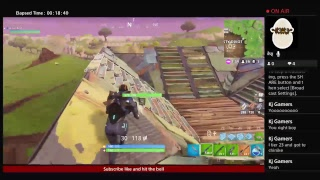 Playing fortnite with keyboard and mouse