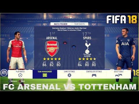 FIFA 18 GAMEPLAY - VOLLVERSION   FC ARSENAL VS FC TOTTENHAM FEAT. BENNY VON BPG [FIFA 18 GAMEPLAY]