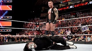 Randy Orton Returns To WWE At Extreme Rules, Stomps Jeff Hardy