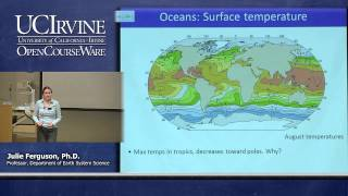 Earth System Science 1: Intro to ESS. Lecture 17. Oceans, Part I.