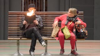 Burning Book PRANK🔥-Julien Magic
