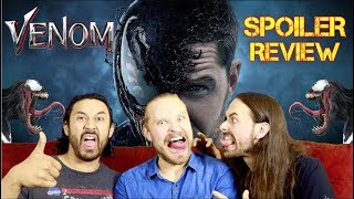 VENOM – Movie Review *SPOILER TALK*!!!