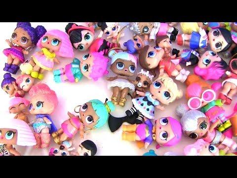 видео: Куклы Лол lol surprise Моя коллекция  ЛОЛ #Видео для детей! Мультик с игрушками!
