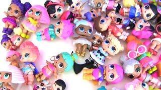 Скачать Куклы Лол LoL Surprise Моя коллекция ЛОЛ Видео для детей Мультик с игрушками