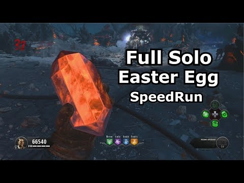 Solo Blood Of The Dead Full Easter Egg Speedrun