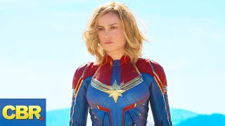 Captain Marvel New Look REVEALED (And More Spoilers)