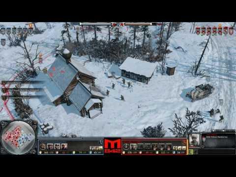 CoH2 - 1v1 - [OKW]PanzerGrenadierAngeifen vs [SU]Yoker