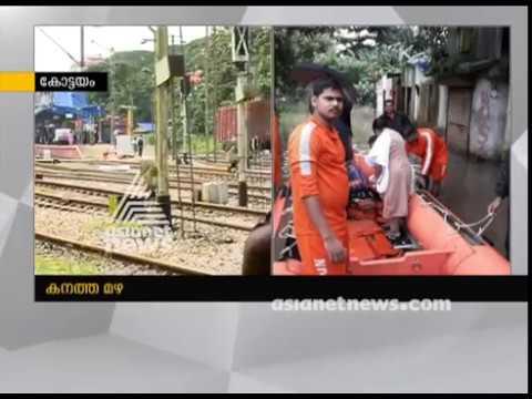 Heavy rains in Kerala hit rail; Trains through Kottayam route cancelled