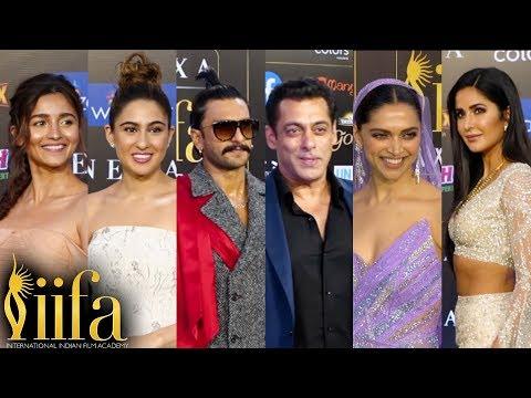 Salman Katrina, Ranveer Deepika, Sara Ishaan, Alia Bhatt   FULL SHOW   IIFA Awards 2019 ▶2:33:55