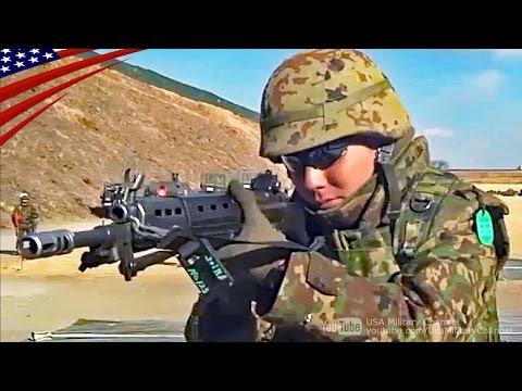 陸上自衛隊と米海兵隊の小銃射撃・ファストロープ降下訓練:日米合同軍事演習フォレストライト