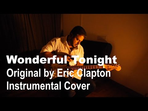 Wonderful Tonight | Eric Clapton | Slowhand | Instrumental Guitar Cover | Joydeep Bose