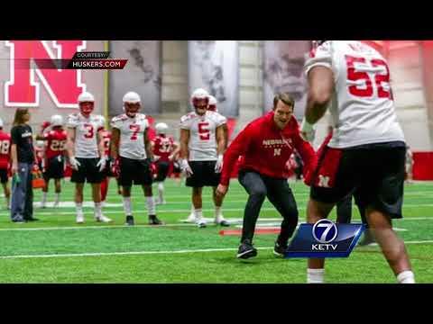 Nebraska football kicked off spring practice Friday morning