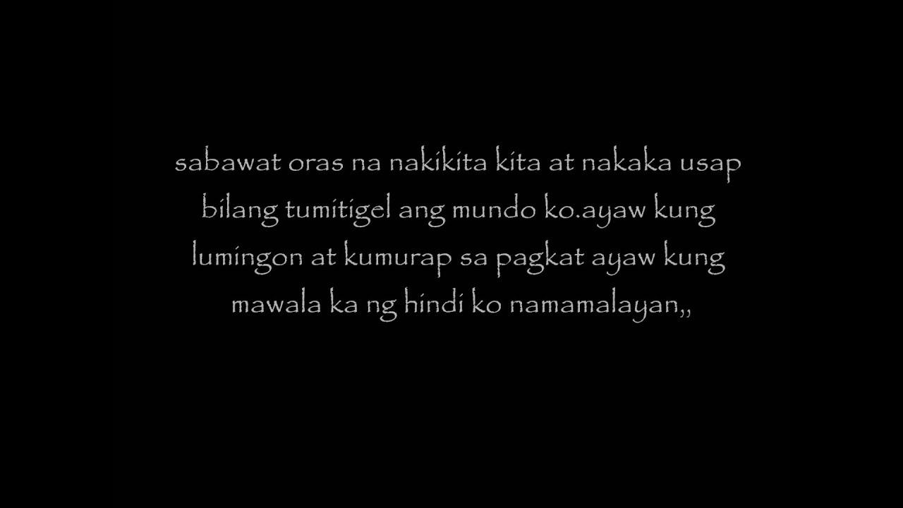 Tagalog Love Quotes Tagalog Love Quotesbob Youtube