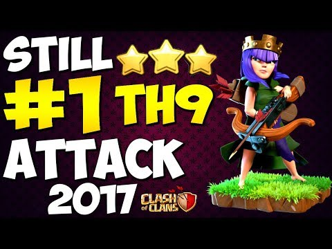 IS THIS STILL THE BEST TH9 ATTACK STRATEGY FOR 3 STARS ? 2017 | Clash of Clans