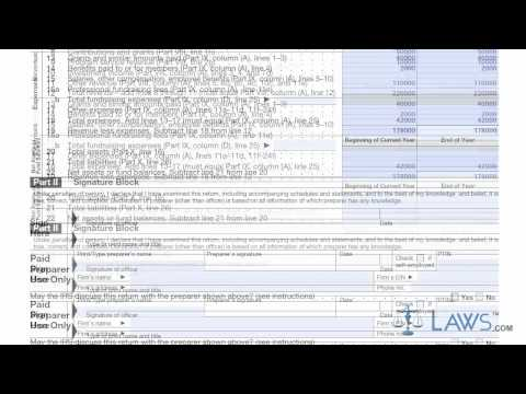 Learn How to Fill the Form 990 Return of Organization Exempt from Income Tax (2011)