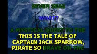 Lonely Island Jack Sparrow Karaoke