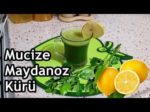 MAYDANOZ LİMON SARIMSAK KÜRÜ | SamimiMutfak sağlık - YouTube