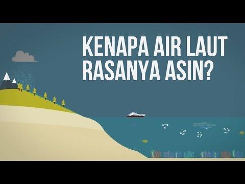 Kenapa Air Laut Rasanya Asin?