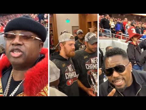 The Morning Breeze - Inside the Locker Room after 49ers NFC Championship Victory