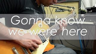 Jason Aldean - Gonna Know We Were Here | electric guitar cover (instrumental)