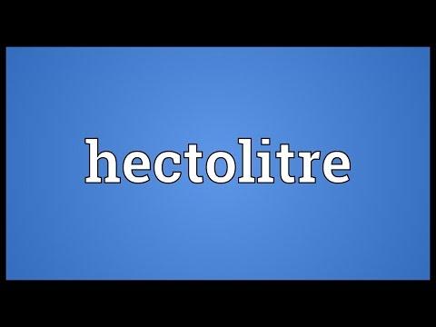 Header of hectolitre