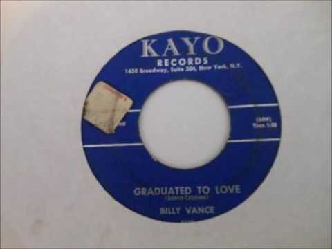 Billy Vance & Group - Innocent / Graduated To Love - Kayo 926 - 1962