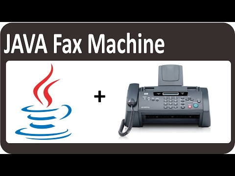 Java Application Project Tutorial  Fax machine