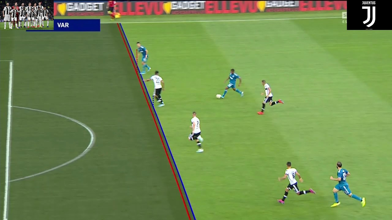 Parma-Juve 0 - 1 Gol annullato CR7
