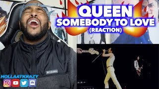 FIRST time HEARING - SOMEBODY TO LOVE (1981 MONTREAL) - QUEEN | REACTION
