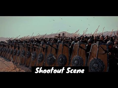 enemy-attack-castle-scene---[war-movie-combat-battle-scene]