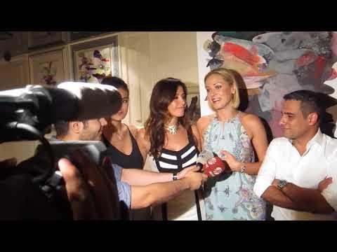 Kristanna Loken - Kanal D & Beyaz TV interviews in  Istanbul, Turkey (2015)