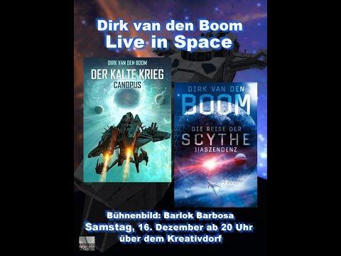 Samstag, 16. Dezember: Dirk van den Boom live in Space