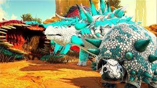 O LENDARIO BEBÊ TATU CAJU CELESTIAL DOEDICURUS - O AMIGO SUPREMO ! Ark Animals Evolved Dinossauro