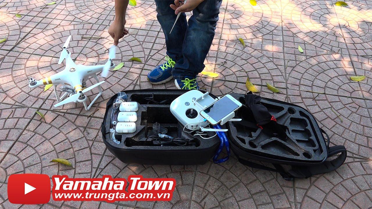 Flycam – Hướng dẫn Bay, điều khiển cơ bản! [DJI Phantom 3 Professional] ✔