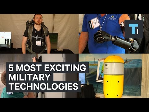 5 most exciting military technologies