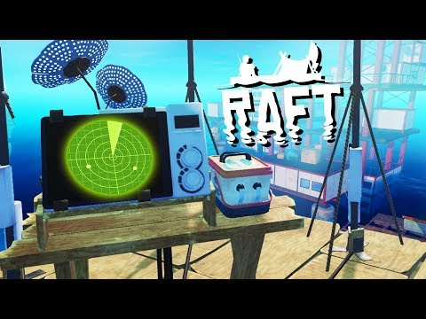 Secret Island FOUND! - Raft Gameplay