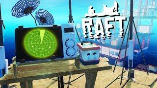 Secret Island FOUND! - Raft Gameplay