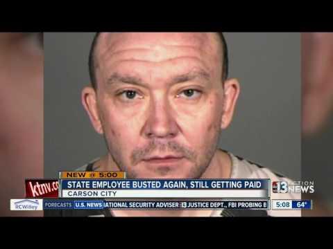 Nevada Transportation Authority Employee Arrested Again