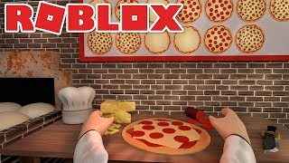 I BAKED THE TASTIEST PIZZA IN ROBLOX! -Roblox Work at a Pizza Place English