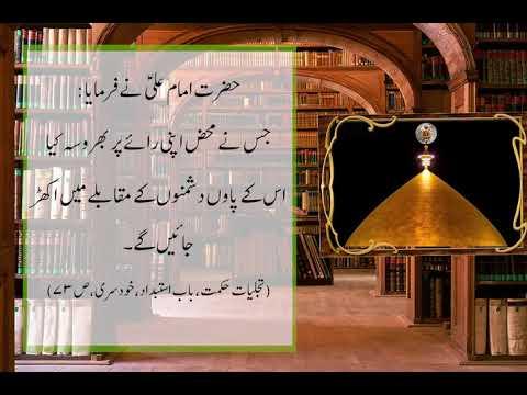 Whatsapp islamic status(Farman E Hazrat Ali a s)
