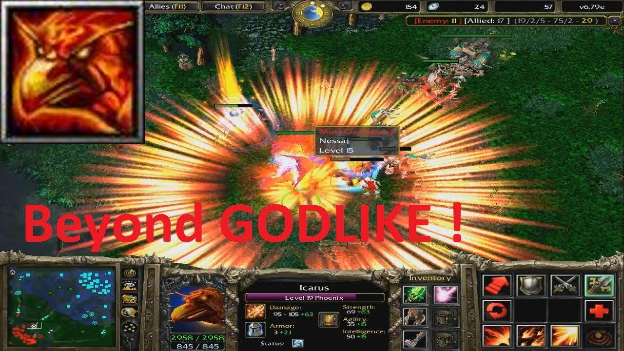 Phoenix, Icarus Beyond GODLIKE !