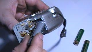 Эксперимент: использование аккумулятора типа 14500 3,7 В вместо аккумуляторов типа АА 1,2 В