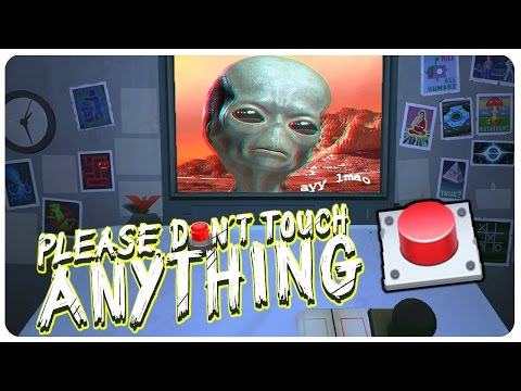 Please Don't Touch Anything 3D - AYY LMAO | Please Don't Touch 3D Gameplay