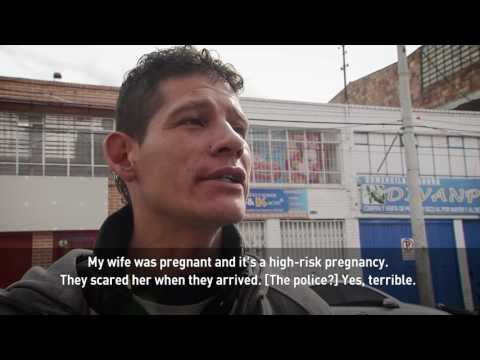 After The Bronx falls in Bogota, homelessness persists