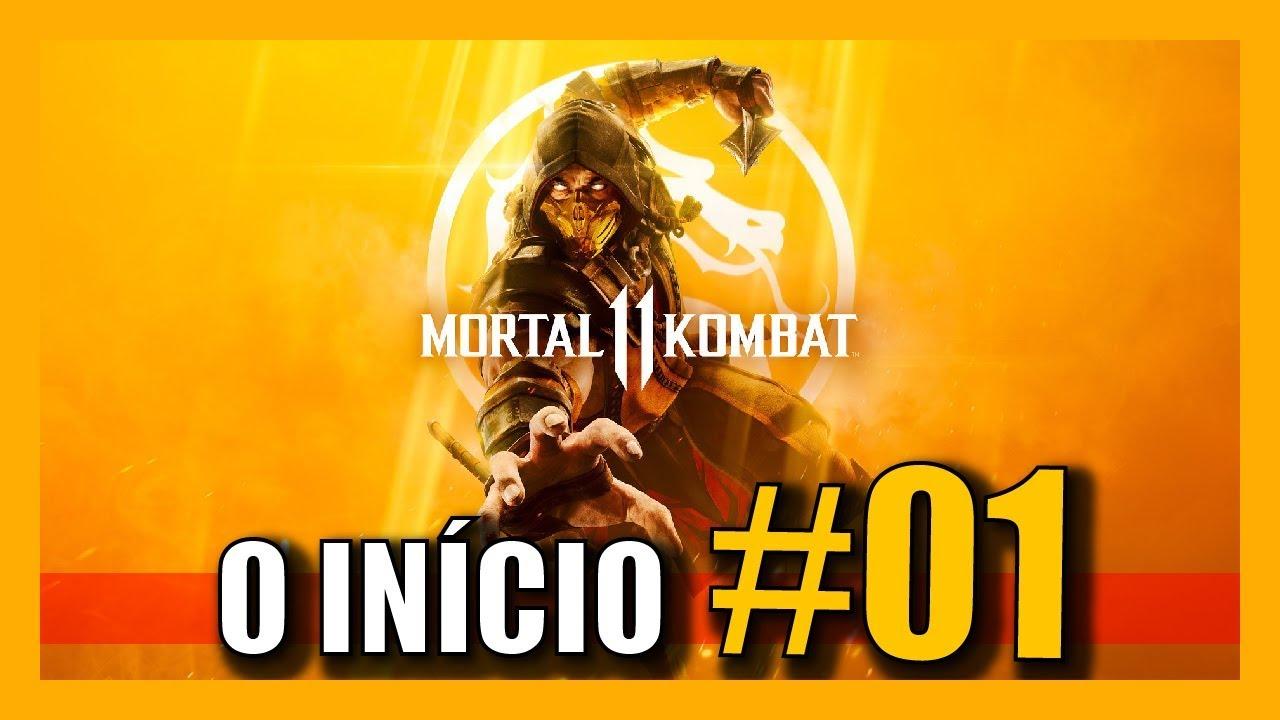 MK11: INÍCIO DO MODO HISTÓRIA DUBLADO EM PORTUGUÊS PT-BR [Mortal Kombat 11]