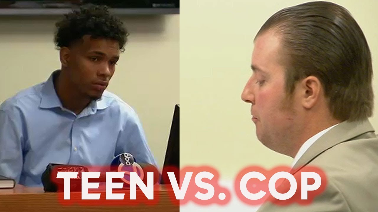 NEW YORK: BLACK TEEN TESTIFIES AGAINST KKKOP