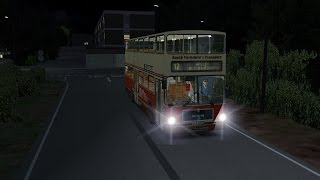 OMSI 2 Bowdenham V4.0 (Chrono Event B) Route 12 Oakwood Green - Apsley Bus Station (HD)