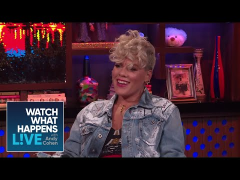 P!NK On Since U Been Gone + Loving Kelly Clarkson | #FBF | WWHL